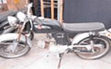 横浜市で無料回収した原付バイク・ホンダ・ベンリー50