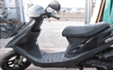 横浜市で無料回収した原付バイク・ホンダ・スーパーディオ